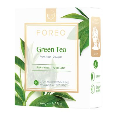 Photo of FOREO Green Tea UFO Purifying Face Mask 6 x 6g