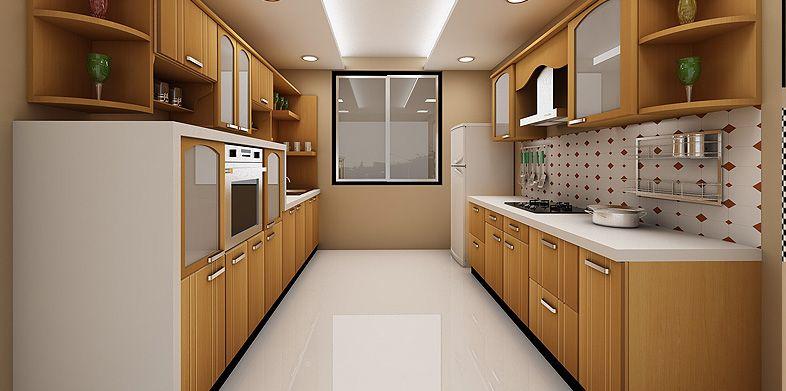 kitchen parallel layout - Google Search | Jade garden | Pinterest