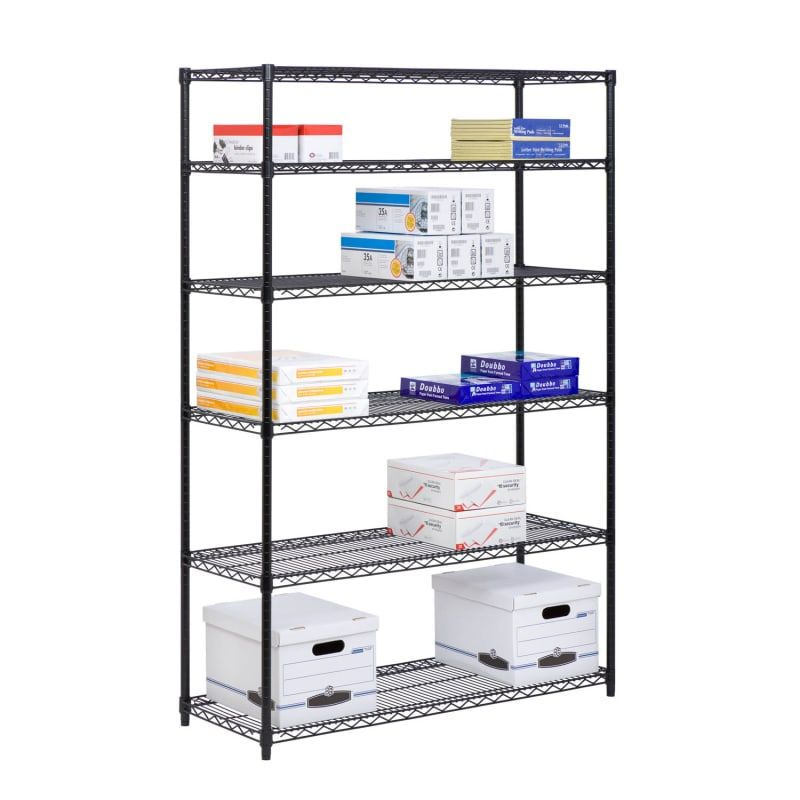 Shelfplaza ® Home Shelving Unit 200x40x60cm garage hobby basement workshop