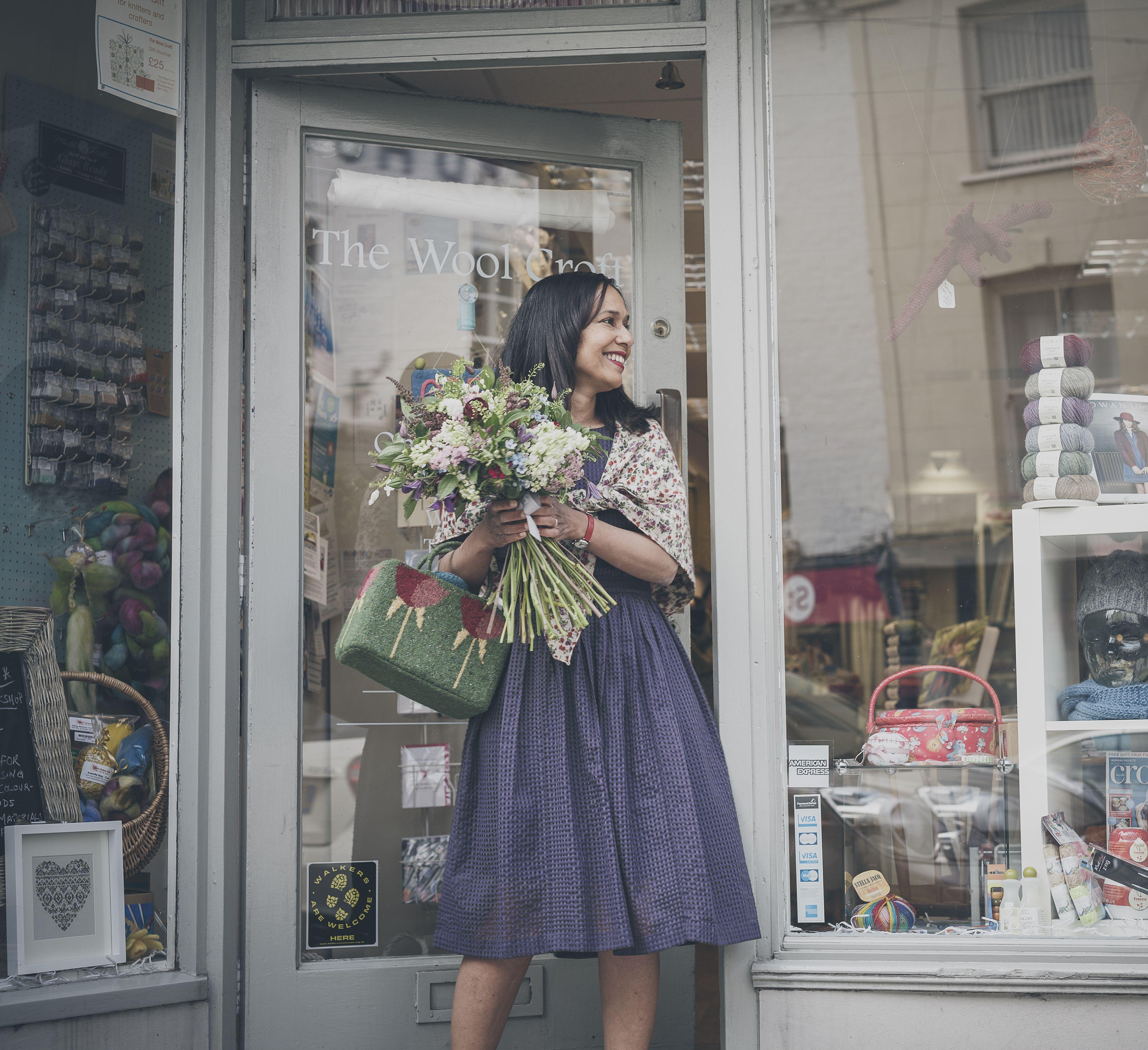 A Story In Yarn photoshoot. Image ©Jesse Wild