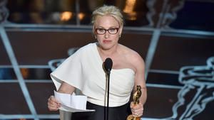 At the Oscars, Patricia Arquette has a message: 'Equal means equal'