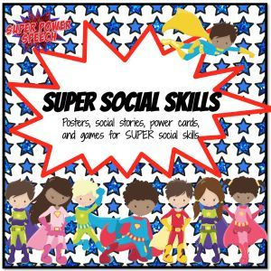 """Super Social Skills: """"This is absolutely fantastic. The super hero theme is so reinforcing - it makes learning social skills fun! Highly recommend this- so useful!!"""""""