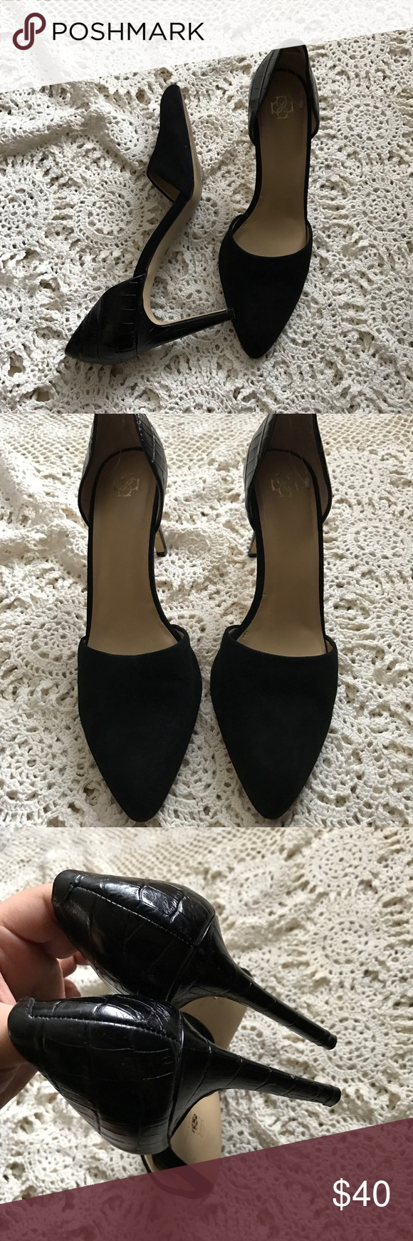 🍕SALE🍕Ann Taylor black pumps Gently used size 9M Ann Taylor Shoes Heels