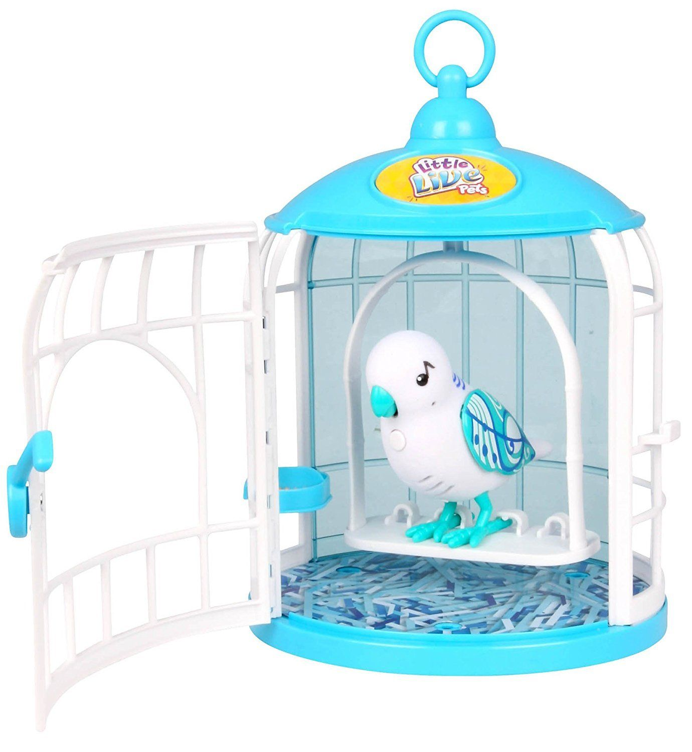 Little Live Pets S2 Bird With Cage Singalong Sammy Click Photo