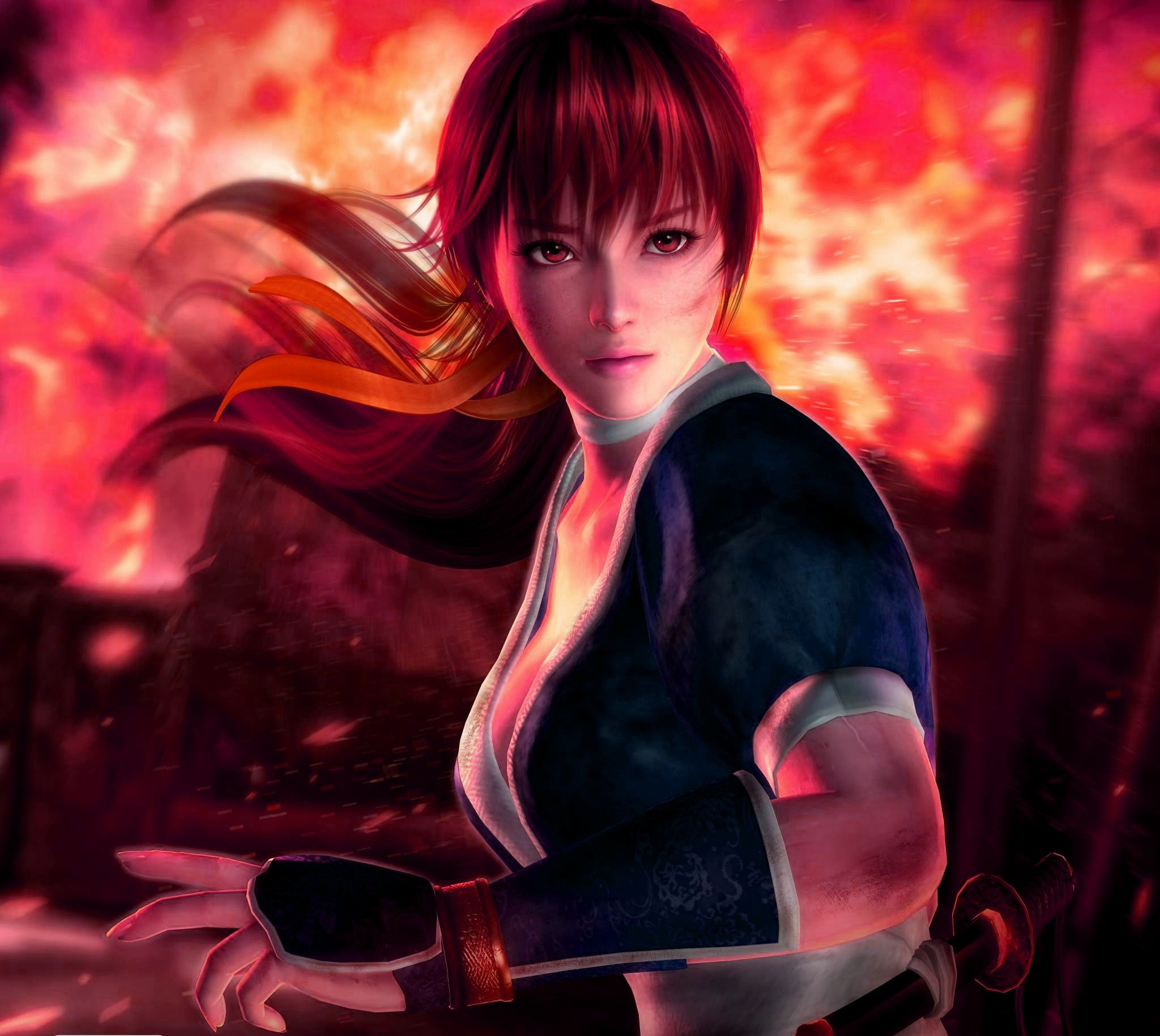 Kasumi Dead or Alive Anime character design, Anime