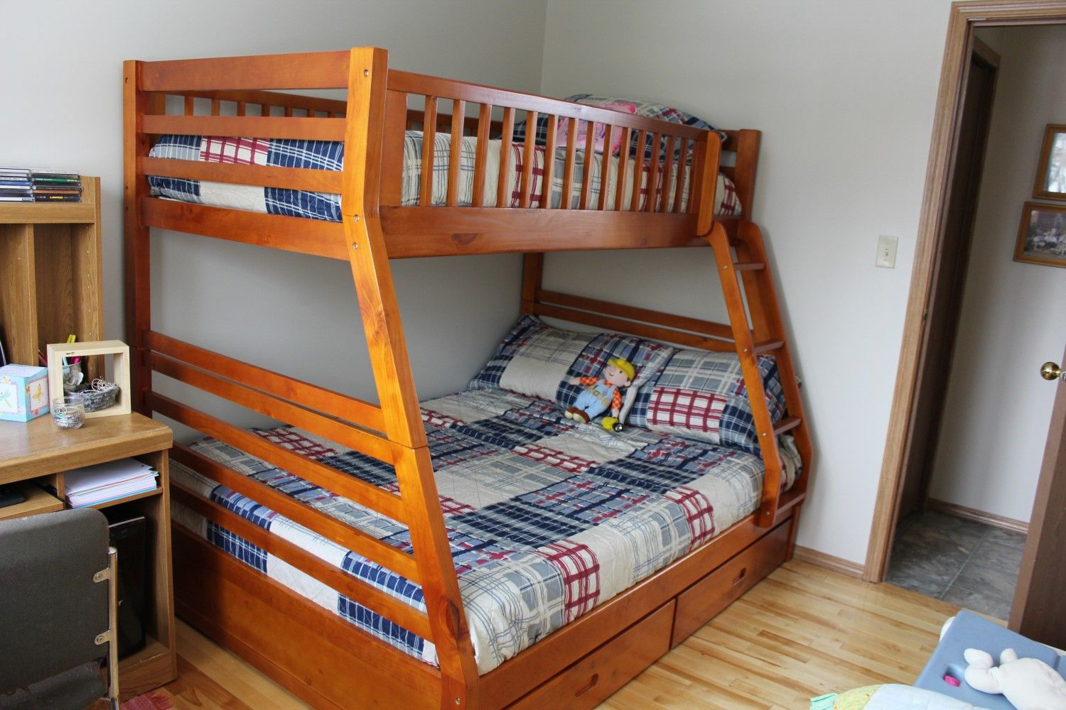 Fraser Bunkbed Single Over Double With Drawers