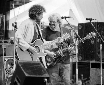 Bob Dylan & Jerry Garcia