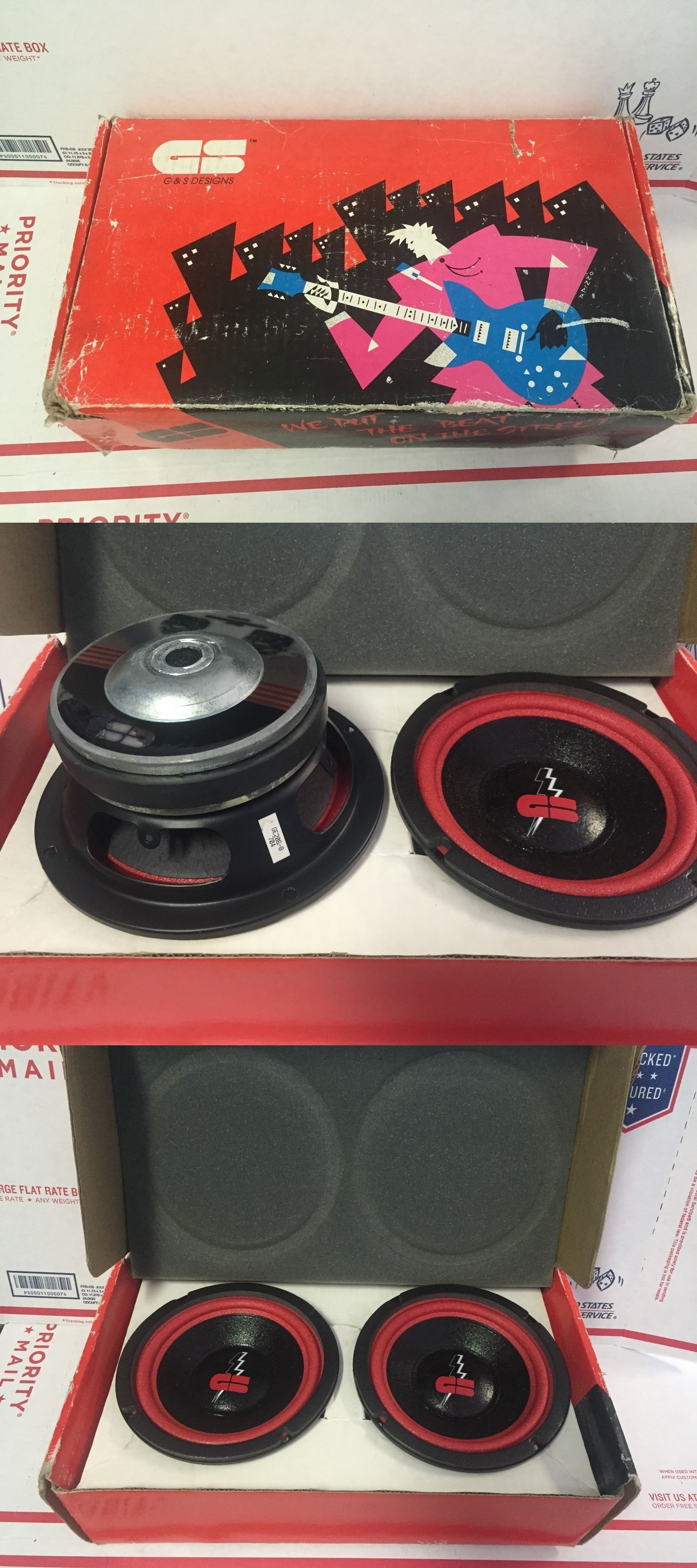 Old Car Audio Gs Redline Ge 206 Speakers Pinterest Cars School System