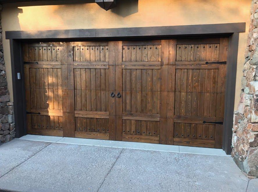 Craftdoors Usa Google Search Wooden Garage Doors Garage Door Design Custom Garage Doors