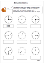 roman numerals clock 2 matematikai clock worksheets year 3 maths worksheets roman numerals. Black Bedroom Furniture Sets. Home Design Ideas