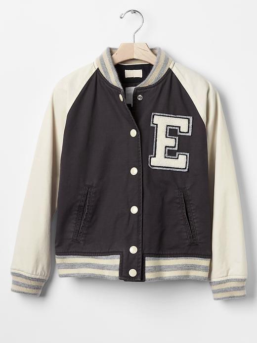 84a2dfc3c GapKids x ED (Ellen Degeneres) varsity jacket