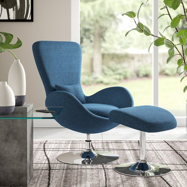 Surprising Maresca Guest Chair With Ottoman Furniture In 2019 Chair Ibusinesslaw Wood Chair Design Ideas Ibusinesslaworg