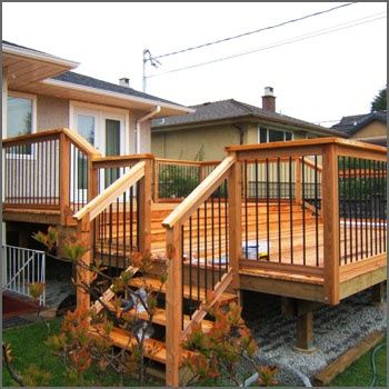 aluminum deck railing systems repinned by normoe the backyard