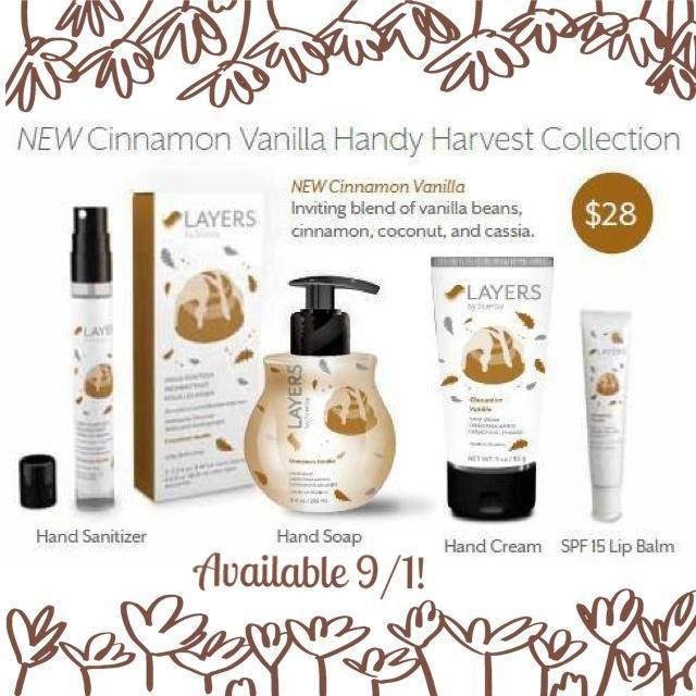 Scentsy Cinnamon Vanilla Harvest Collection Available Starting 9