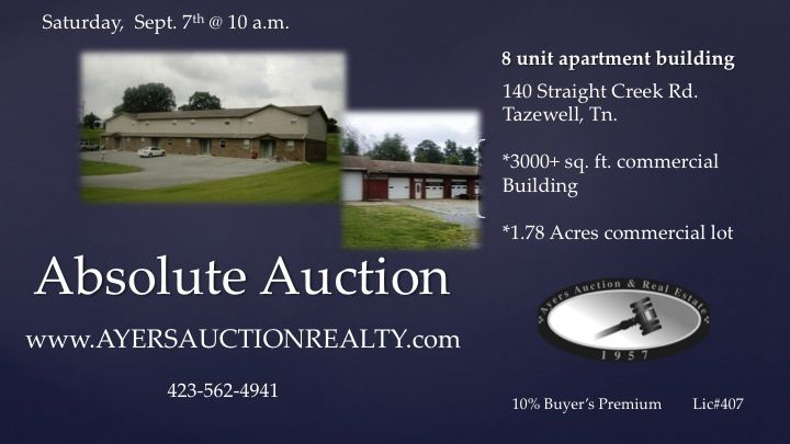 Absolute Auctions Saturday Sept Am Pm Tazewell