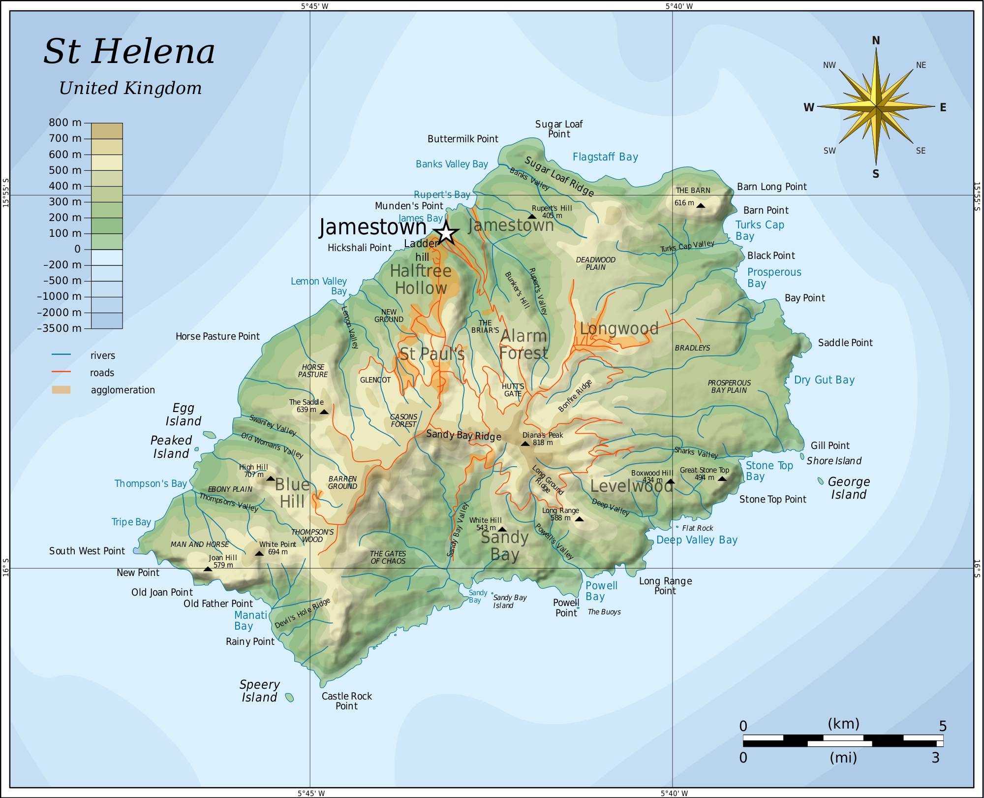 Saint Helena Wikipedia the free encyclopedia Bonaparte