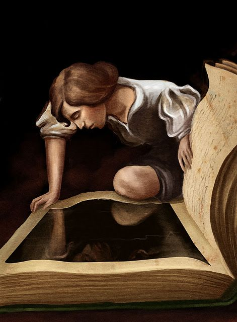 A world opens......when you open a book.