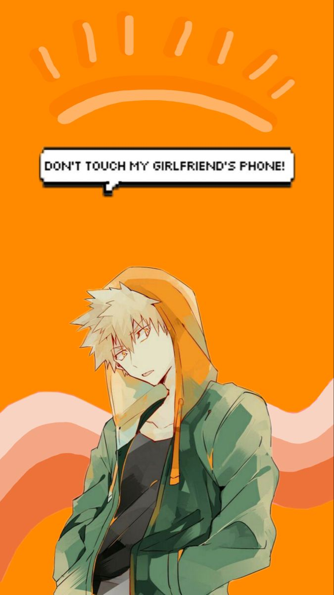 Katsuki S Girlfriend Wallpaper In 2020 My Hero Academia Manga Hero Wallpaper Anime Boyfriend