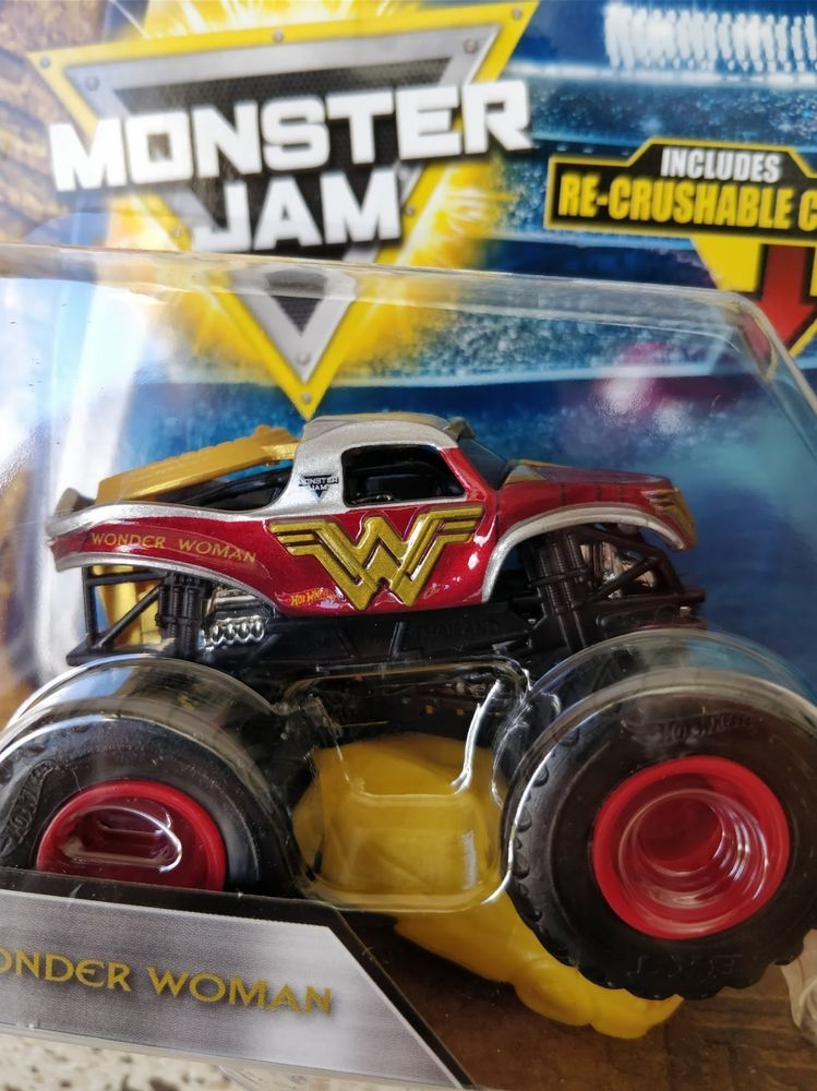 Details about 2018 MONSTER JAM (WONDER WOMAN) EPIC ADDITIONS # 6/15
