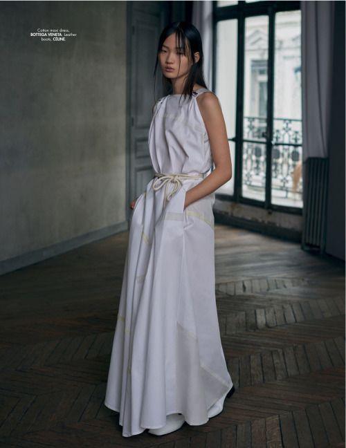 Shin Hyun Ji for L'Officiel Singapore March 2016 by Stefan Khoo