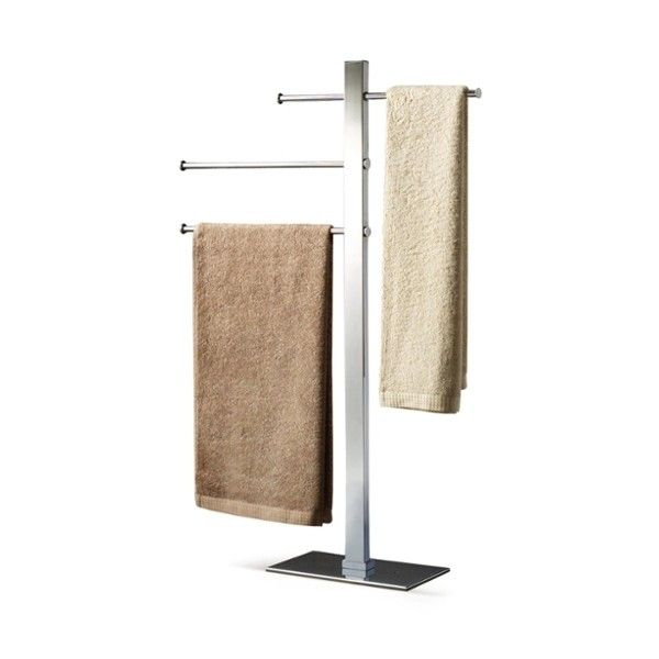 Gedy Bridge Towel Stand ($295) ❤ liked on Polyvore featuring home, bed & bath, bath and bath accessories