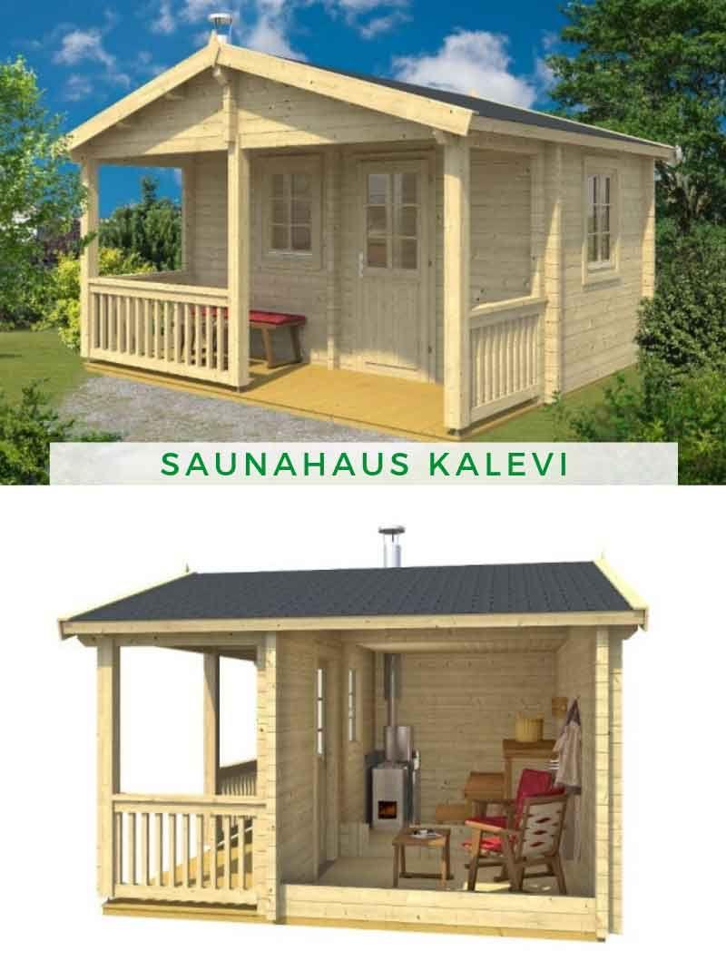 Saunahaus Kalevi 70 Saunahaus, Sauna kaufen und Haus