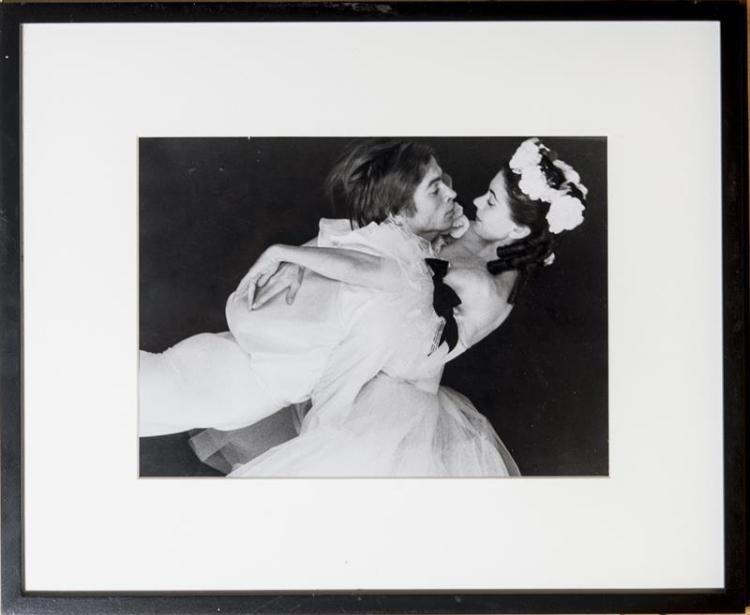 Nureyev, Rudolf - Set of 4 Large Unsigned Photos