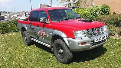 eBay: Mitsubishi L200 2.5 TD 4Life Double Cab 4 Life Spares or ...