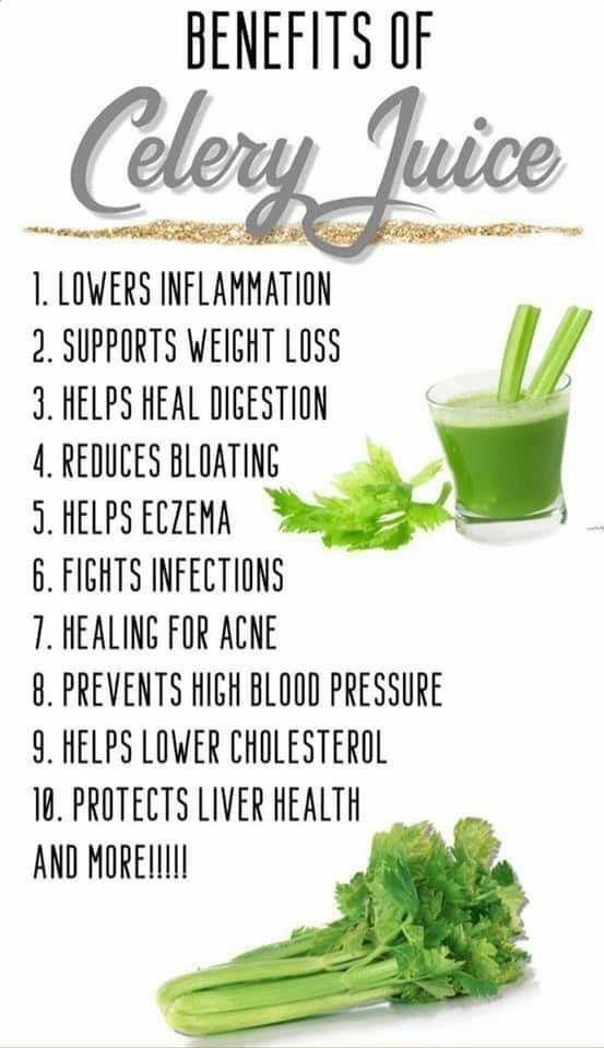 Celery Juice Benefits Instagram