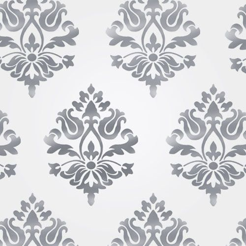 Damask Wall Stencil, Home Decor & Craft Stencil, Paint