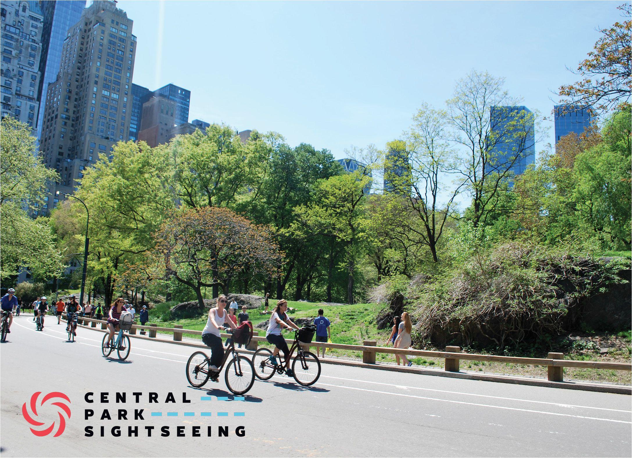 Central Park Sightseeing Bike Rentals Www Centralparksightseeing