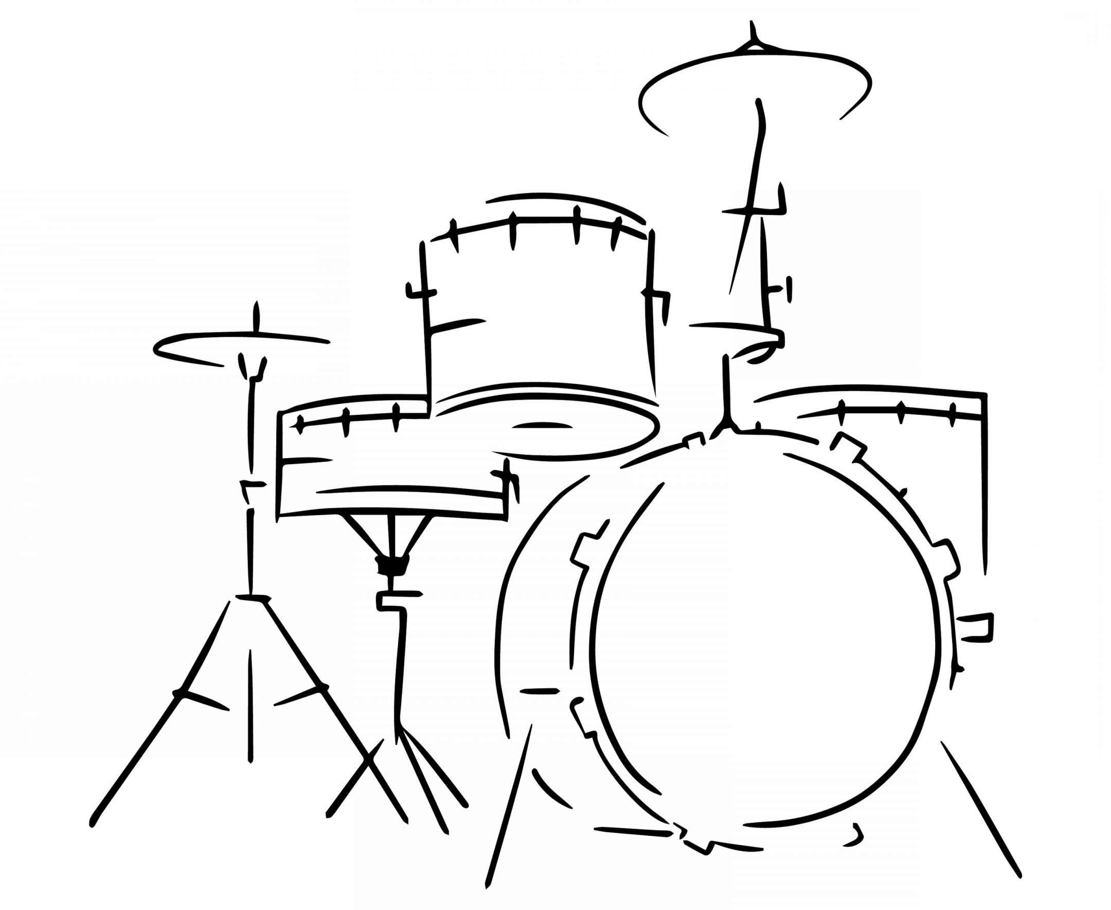 10 Drum Set Drawing Drums Art Drum Drawing Jazz Painting