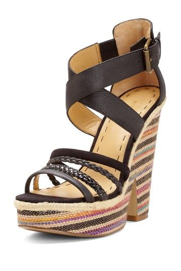 Nine West Treston Wedge Sandal by Nine West on @HauteLook. another pair i can't have boo!