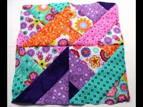 How to sew #Quilt squares using Fabric Jelly Roll - Video two ~I ... : how to make quilt squares - Adamdwight.com