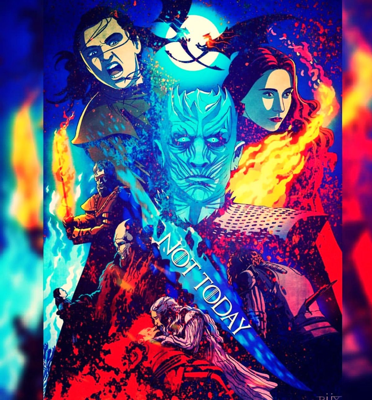 Pin by Emilio Trainor on GOT (With images) Fan art