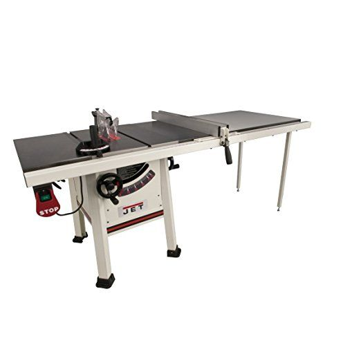 Jet 708495k Jps 10ts 10 Inch Proshop Tablesaw With 52 Inch Fence Cast Iron Wings And With Riving K Best Portable Table Saw Portable Table Saw Small Table Saw