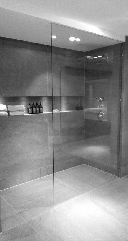 Photo of Nice niche for soap, towels and lighting! – New ideas
