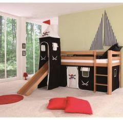 lit cabane pour am nager une chambre de pirate meubler une chambre d 39 enfant avec un lit cabane. Black Bedroom Furniture Sets. Home Design Ideas