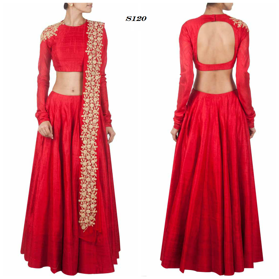 Price 7200.00 INR Colour Red Fabric Raw silk & Net