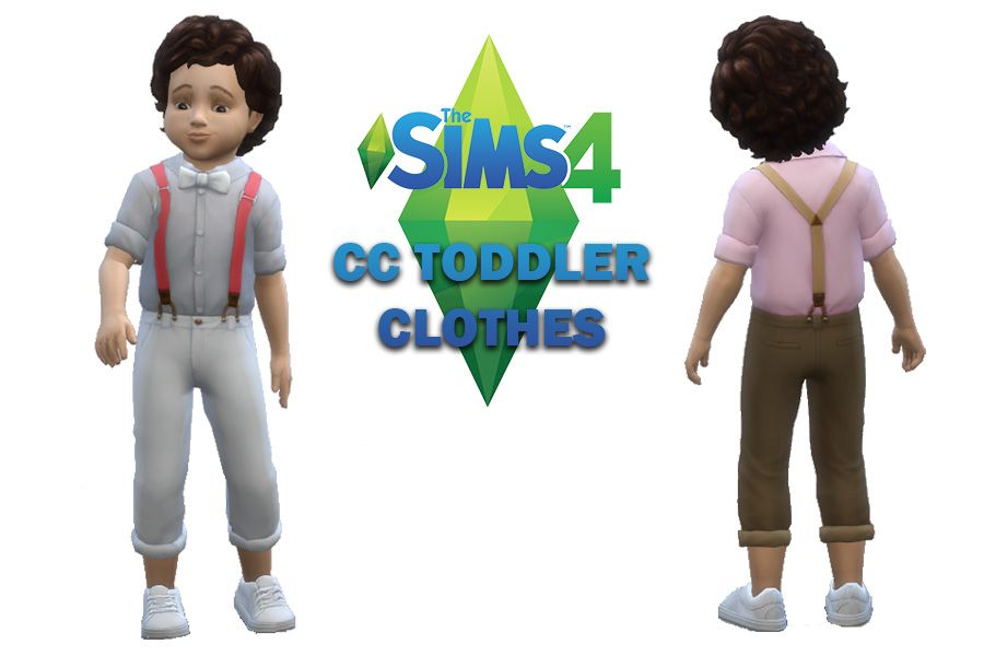ffe5b982ec66 The Sims 4 CC Toddler Clothes Maxis Match