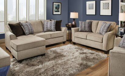 Photo of Bourgeois 76″ Reversible Sectional