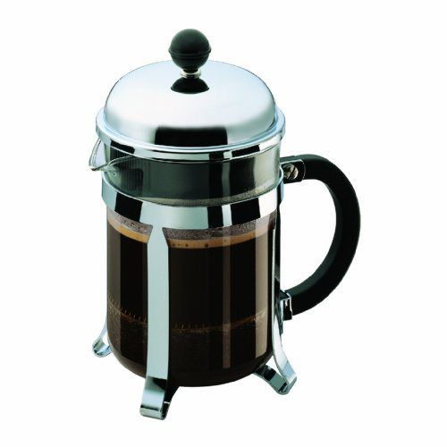 Bodum Chambord 4 Cup Shatterproof French Press Coffemaker, 0.5 l, 17-Ounce - http://teacoffeestore.com/bodum-chambord-4-cup-shatterproof-french-press-coffemaker-0-5-l-17-ounce/