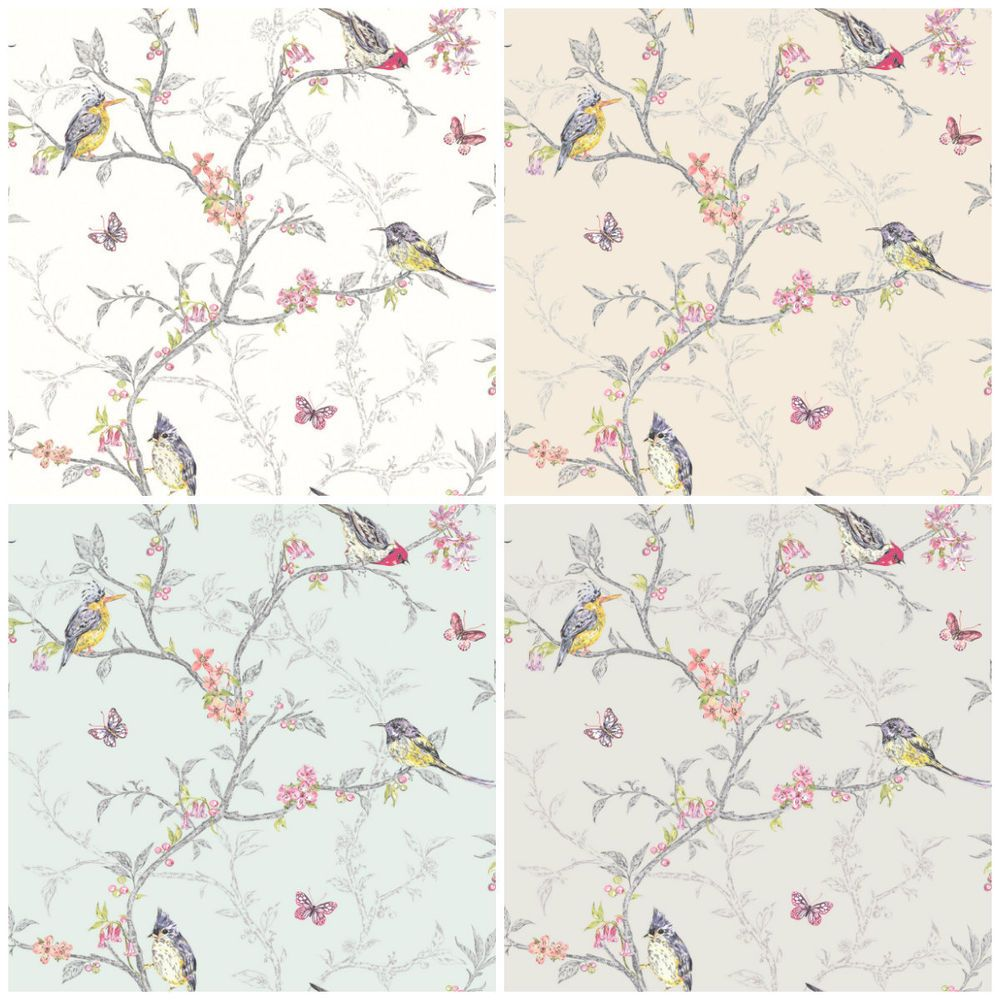 Shabby Chic Bedroom Wallpaper Details About Holden Decor Phoebe Wallpaper Shabby Chic Song