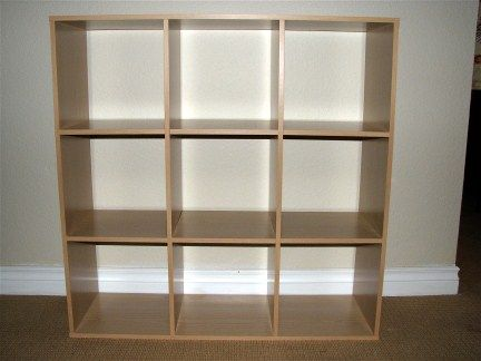 Building A Cube Bookshelf Like Ikea S Expedit Collection