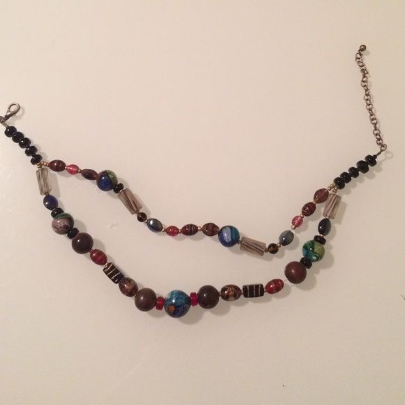 Glass Beads Necklace perfect condition. also on Ⓜ️ Jewelry Necklaces