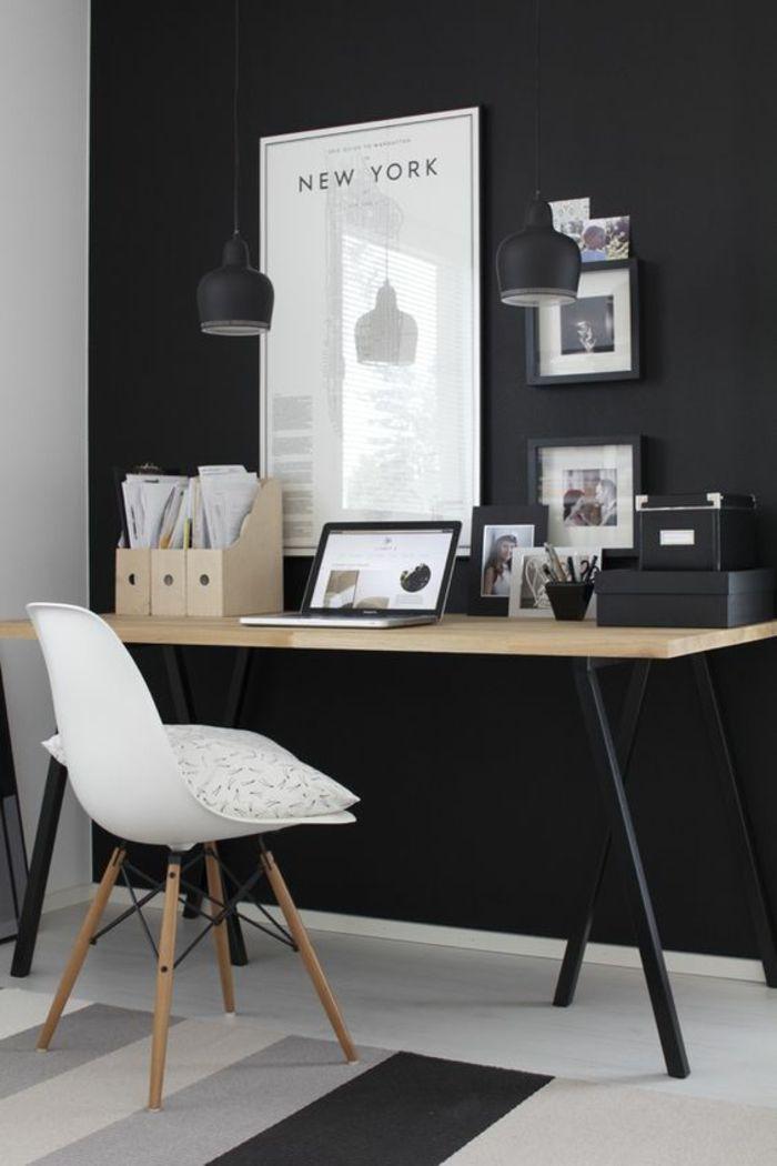 Büroeinrichtung Büromöbel Schreibtisch aus Holz … | Pinteres…