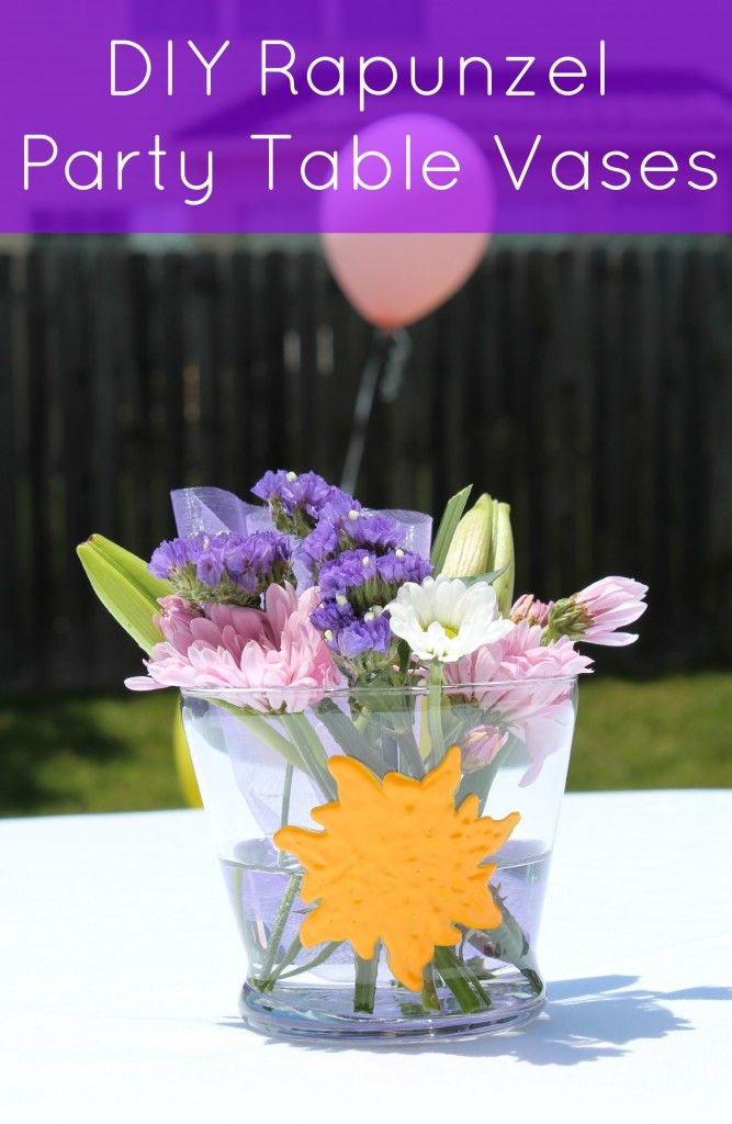 Rapunzel Themed Birthday Banner Tangled Birthday party