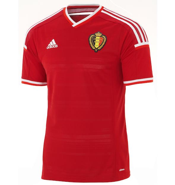 Les nouveaus maillots de la Belgique - http   www.actusports.fr ... 87d4b016c6b85