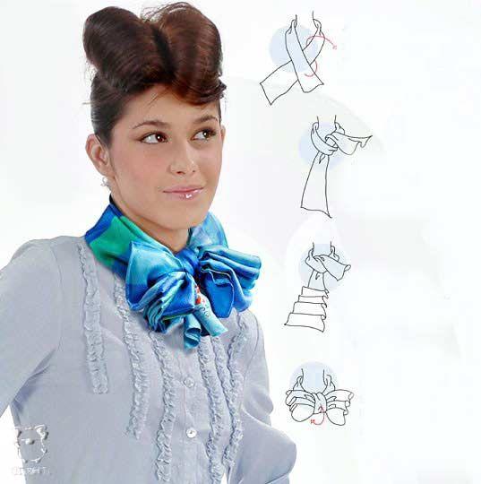 28 способов красиво завязать платок :) - Ярмарка Мастеров - ручная работа, handmade
