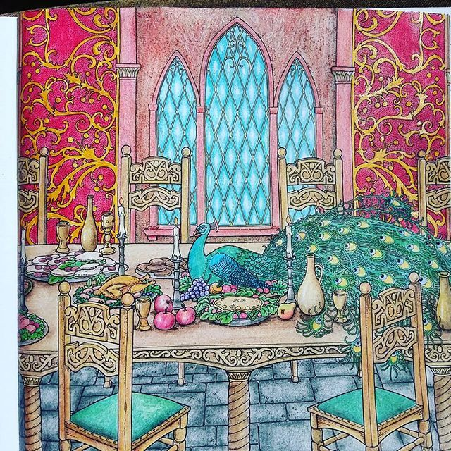 Instagram Photo Feed Colouring Book